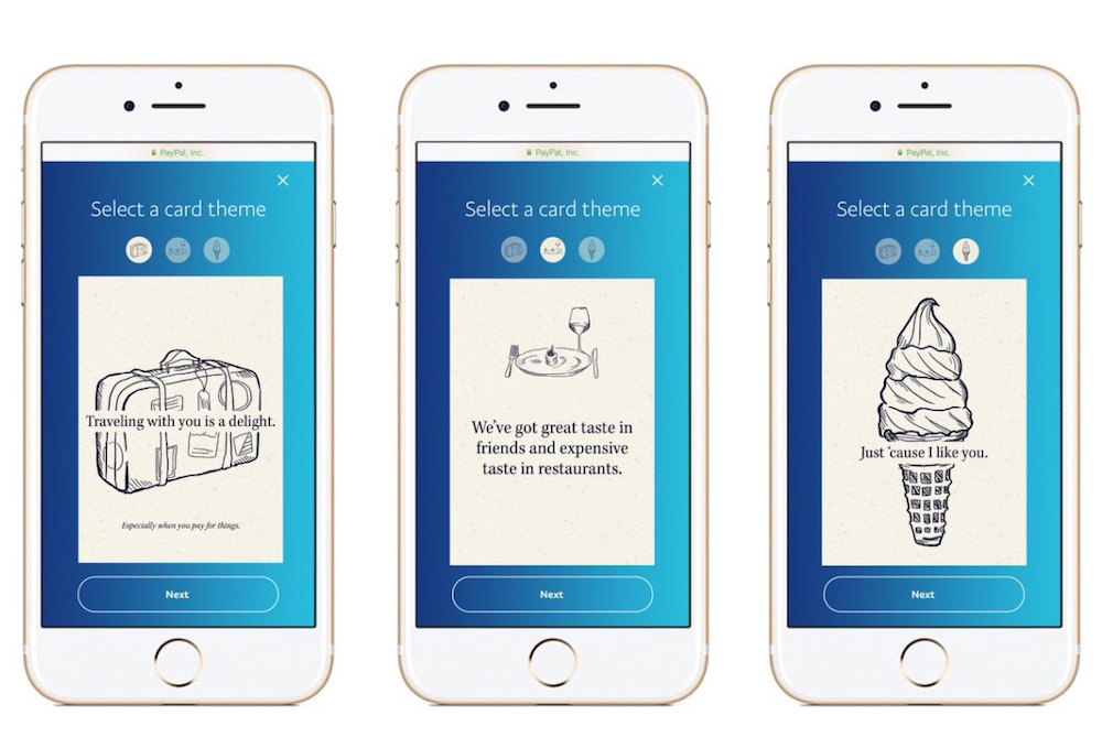 Paypal Introduces Digital Cards To Send Money To Friends