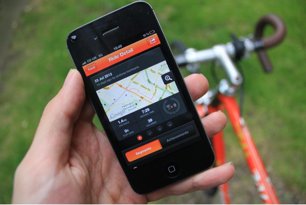 Cycling Fitness Service Provides Phone Insurance For Biking
