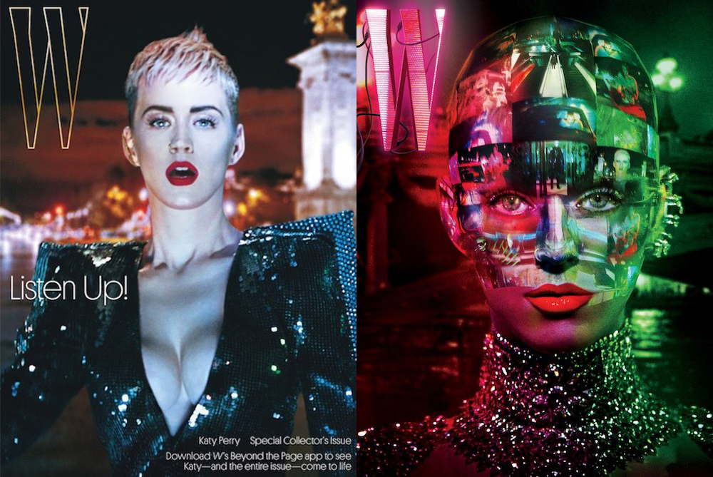 W Magazine's Katy Perry Cover Brings Augmented Reality Into Print