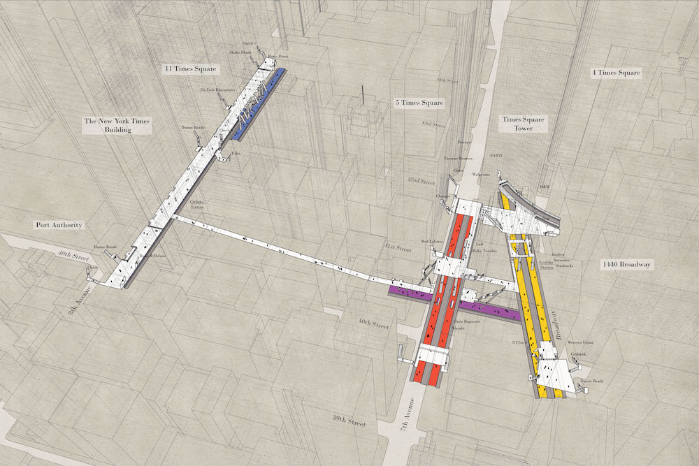 Maps Show X-Ray Versions Of New York's Subway Stations
