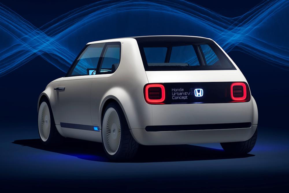 Honda Mixes Future Tech With Retro Design For An Urban Concept Hatchback