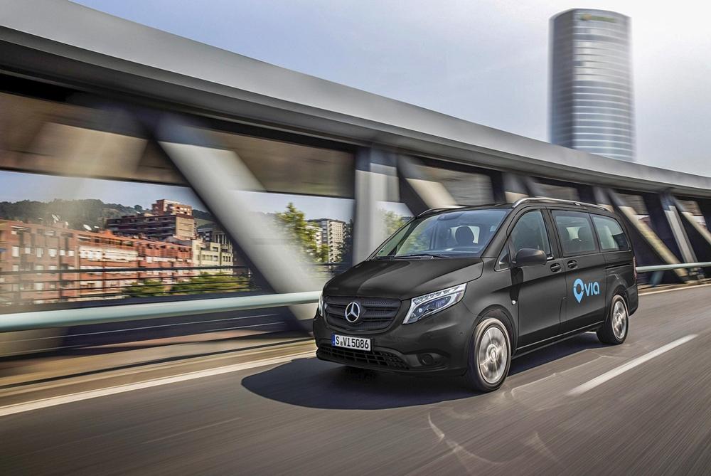 Mercedes-Benz's Ridesharing Service Will Use Luxury Shuttle Vans