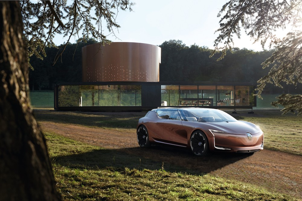 Renault Reveals Concept For A Connected Home And Electric Car