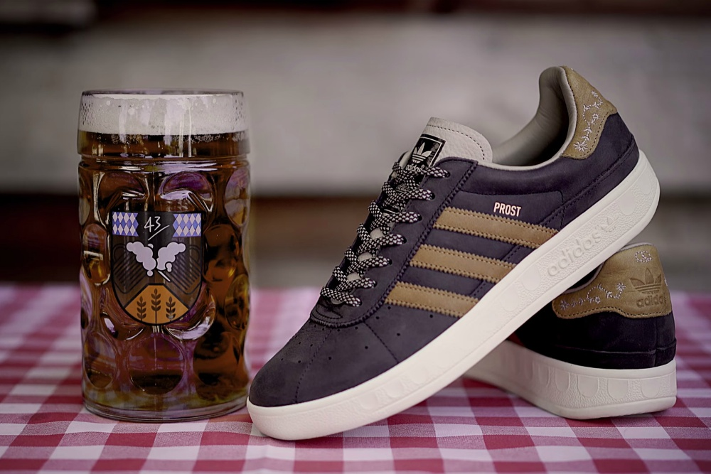 Adidas Has Created A Pair Of Beer-Repellent Shoes