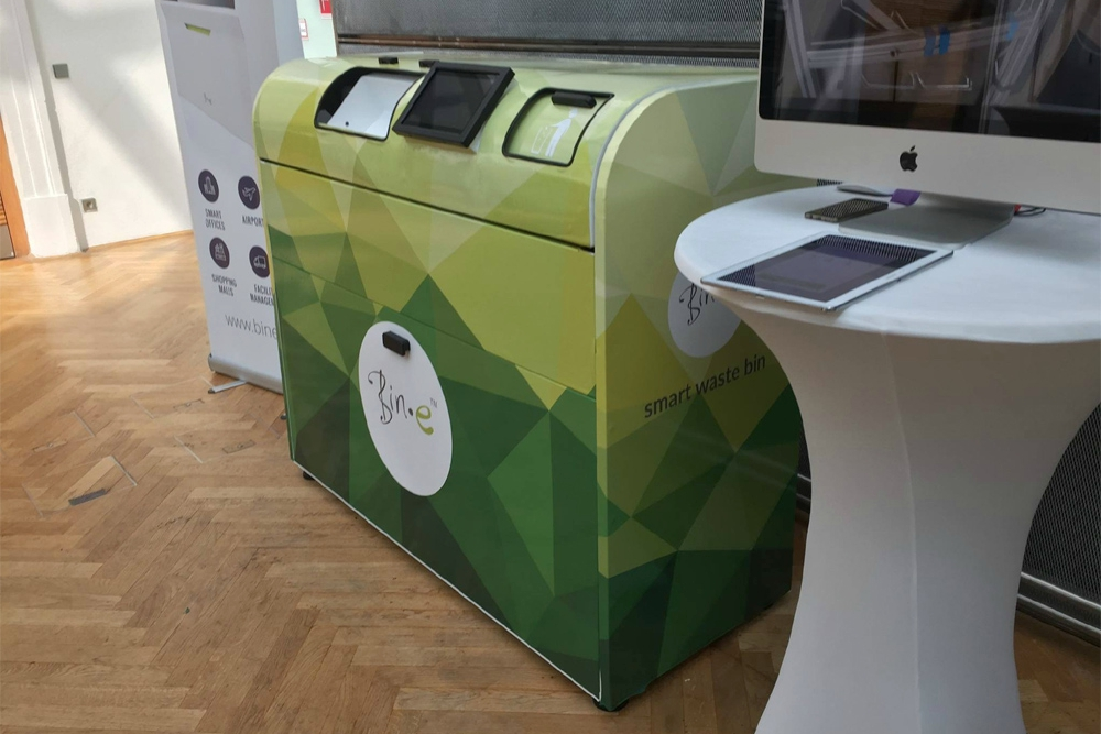 IoT Garbage Can Sorts Your Trash Automatically And Gathers Data