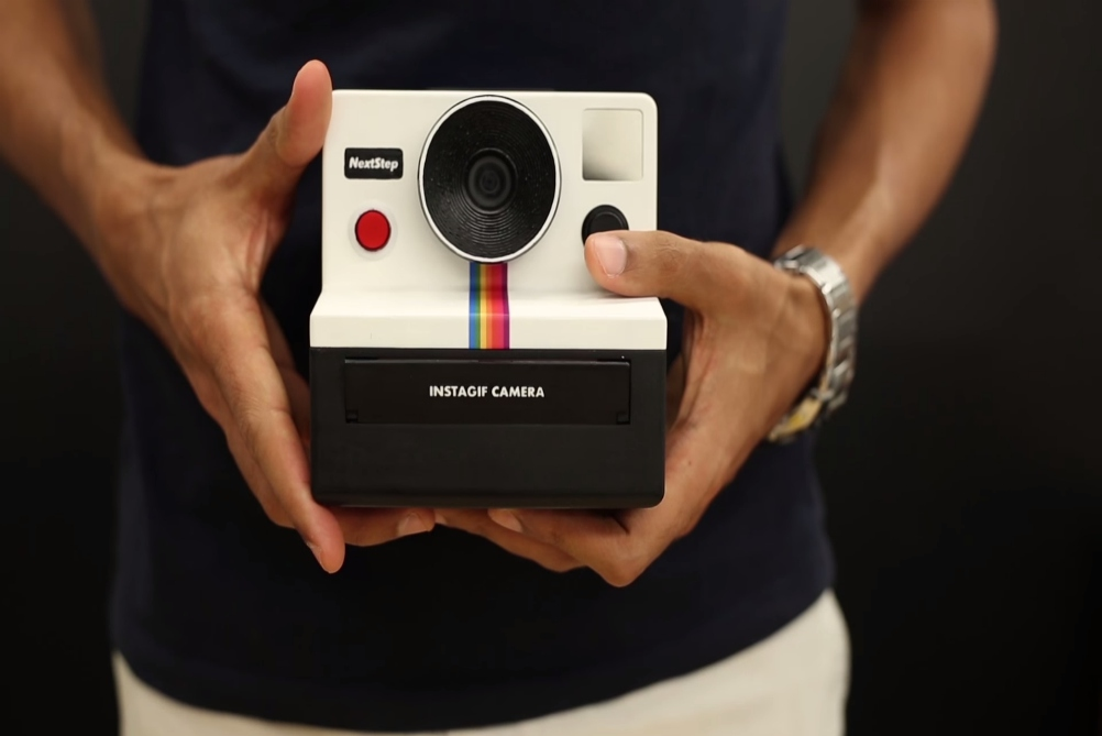 DIY Polaroid Camera Prints Out Moving Images