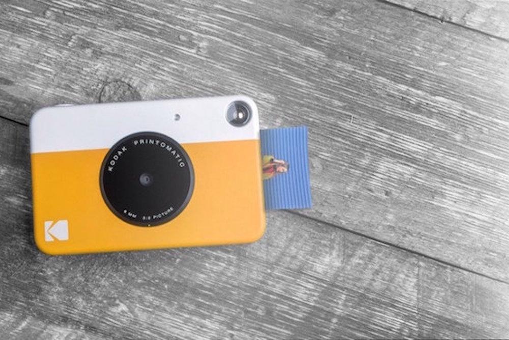 Kodak Brings The Insta-Print Camera To The Digital Age