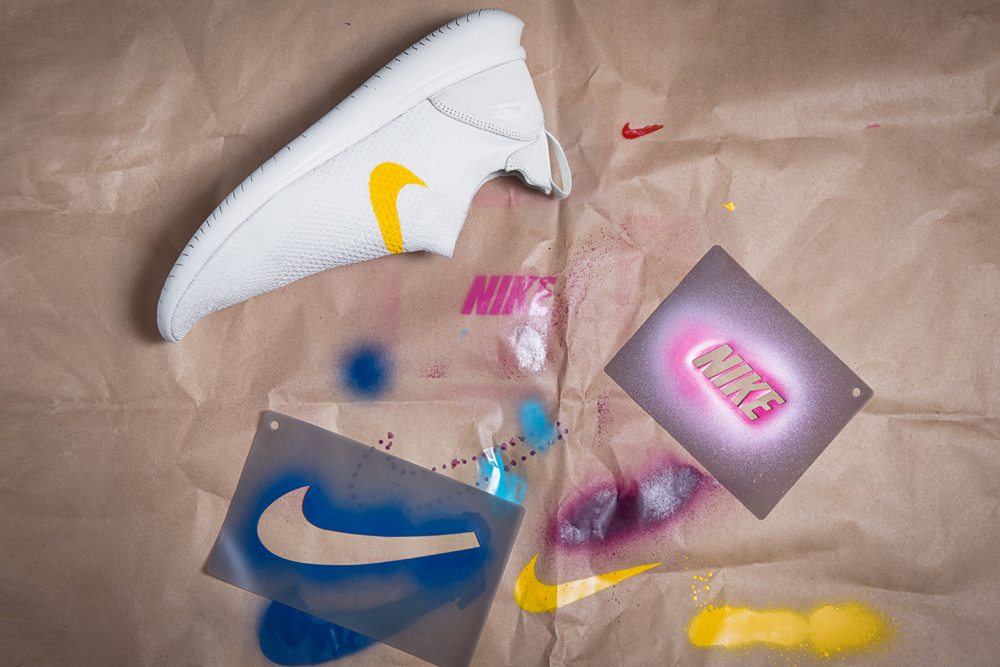 Nike's New Shoes Come With Stencils So Wearers Can Customize Them However They Want