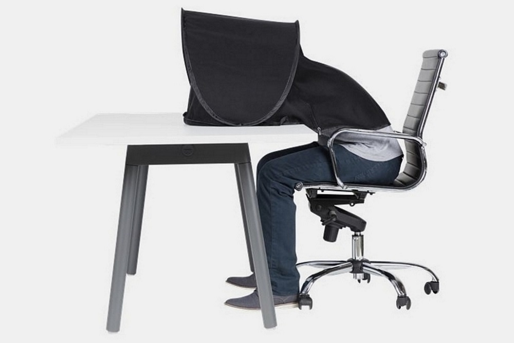 Desk Tent Lets You Take A Nap At The Office