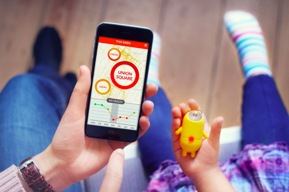 This Toy Tracks Air Pollution Around A Child