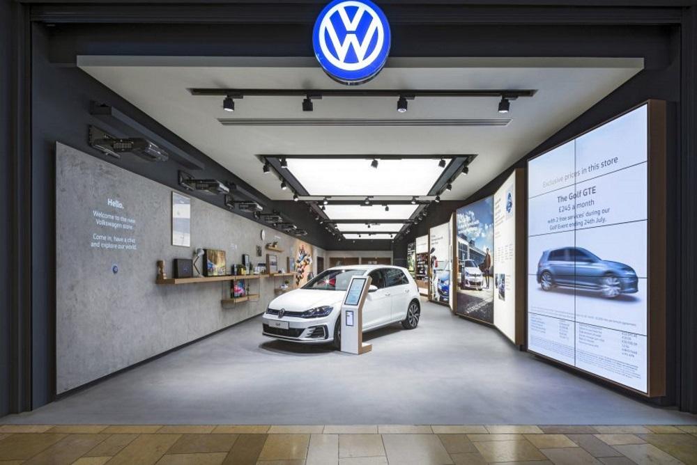 Volkswagen Unveils A New Interactive Automotive Retail Store