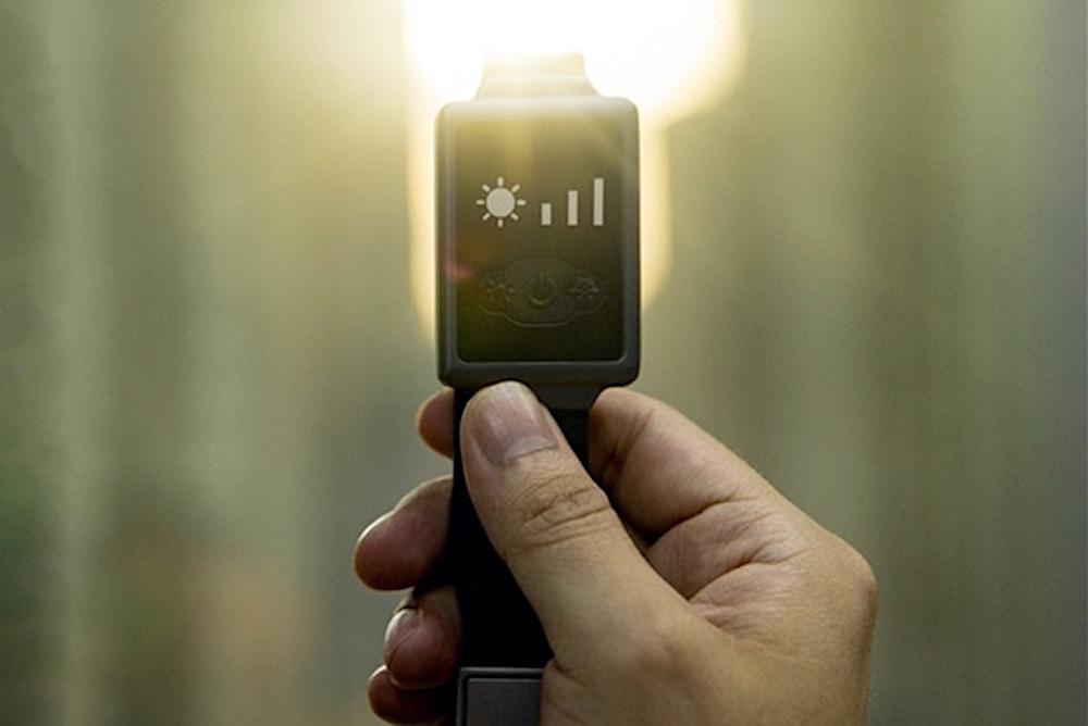 Aircon Watch Regulates The Wearer's Body Heat