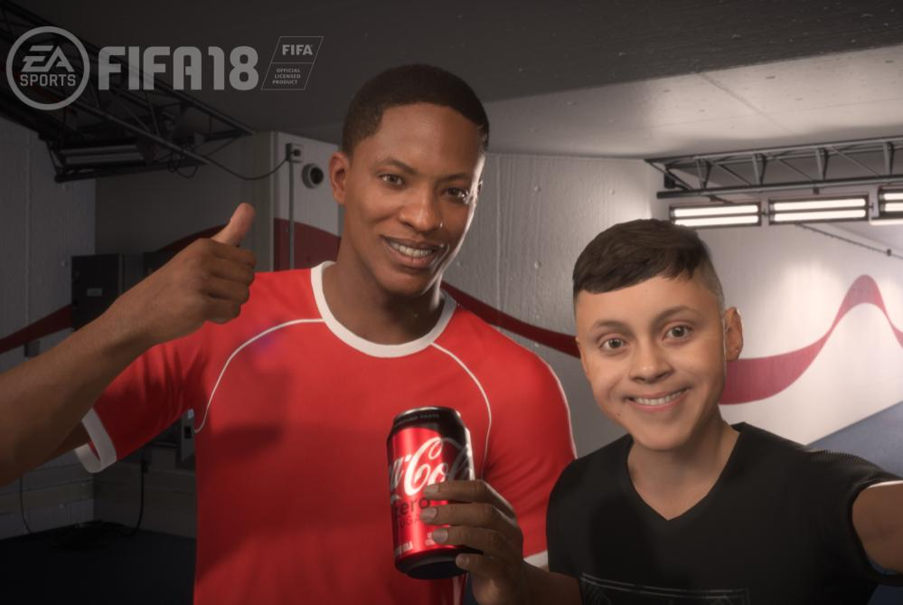 Why Coca-Cola Sponsored A Digital-Only Soccer Player