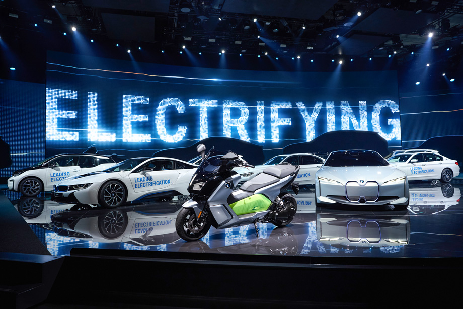 Every Major Car Debut At The 2017 Frankfurt Auto Show Was Electrified