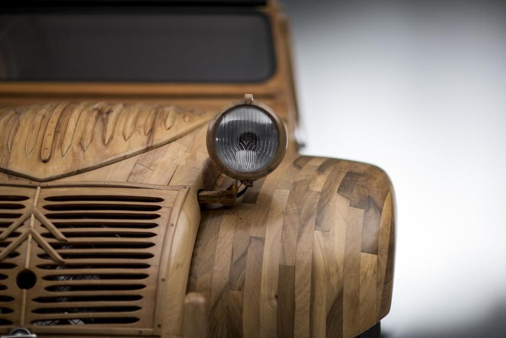 Citroën Is Carving Twitter Posts Out Of Wood To Honor An Old Model