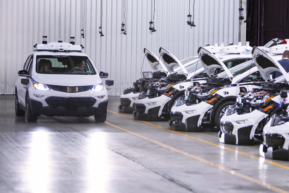 GM Unveils The World's First Mass-Producible Self-Driving Car