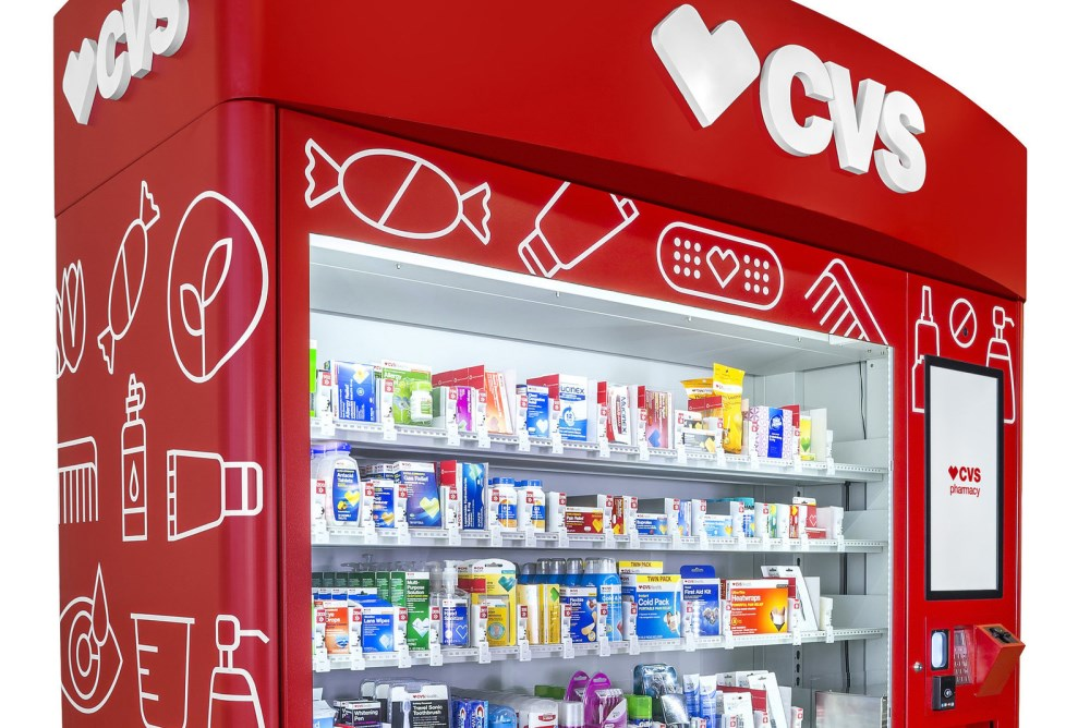 CVS Pharmacy Vending Machine Offers On-The-Go Health Products