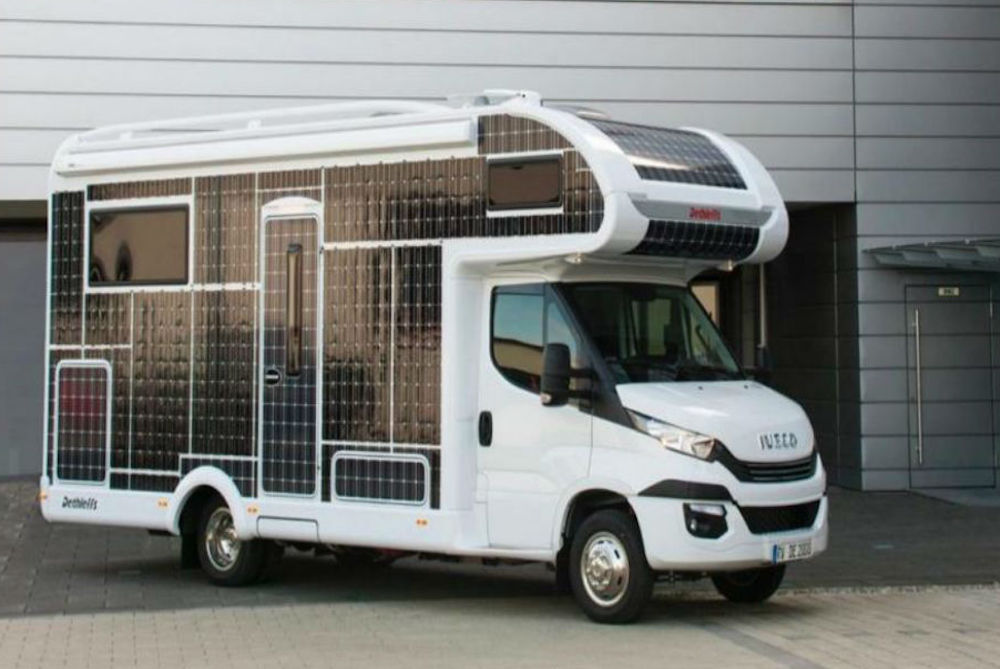 Electric RV Gives Campers Almost Unlimited Range