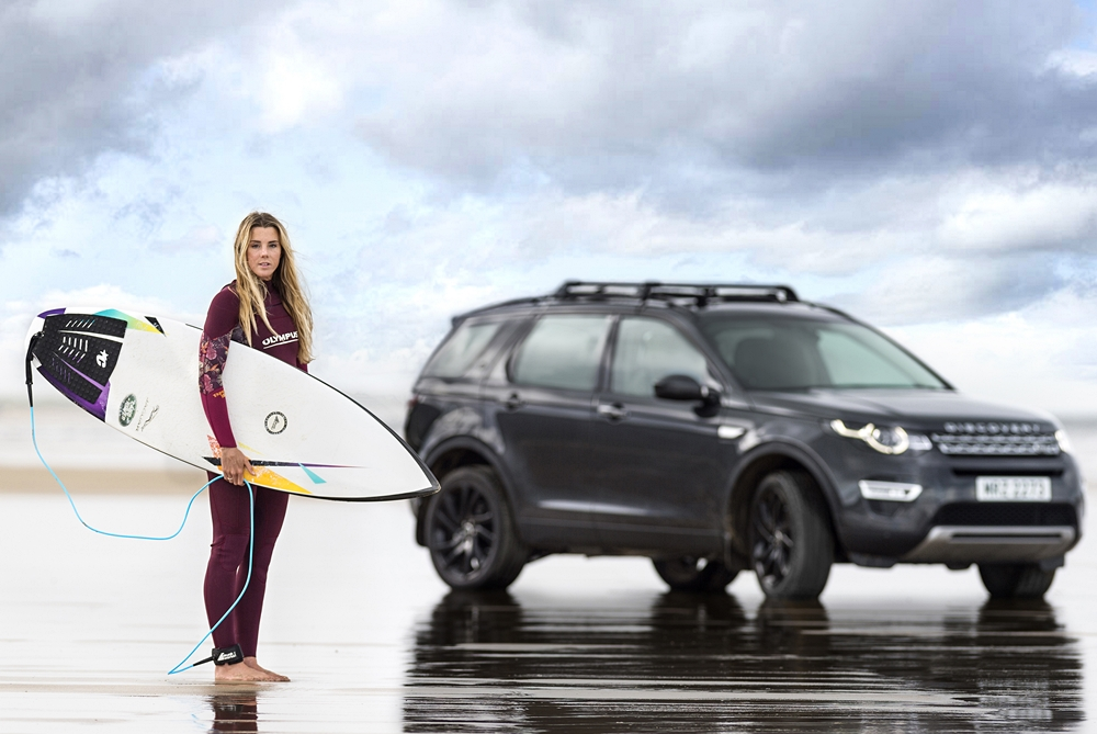 Jaguar Land Rover Is Recycling Car Parts Into Surfboards