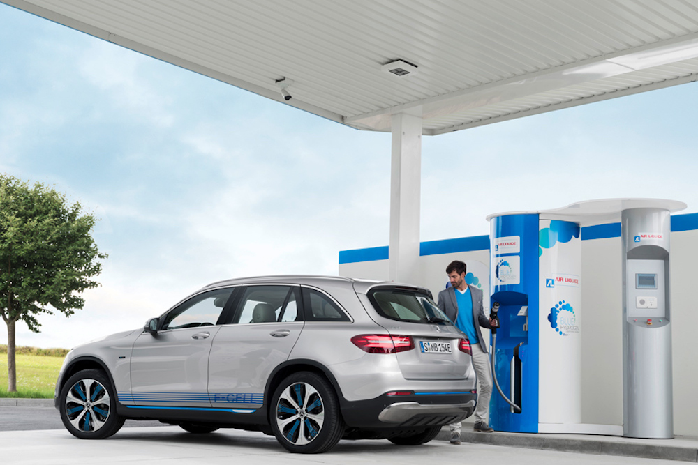 Mercedes-Benz Hopes To Boost Fuel Cell Appeal With A Hydrogen-Electric Hybrid