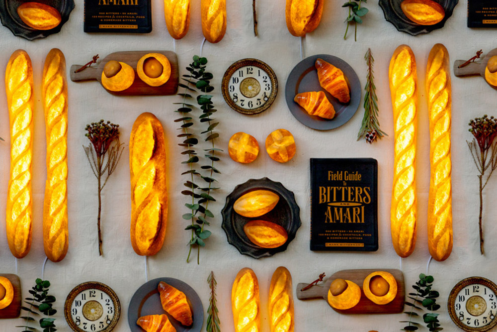 Artist Turns Loaves of Bread Into Functional Lamps