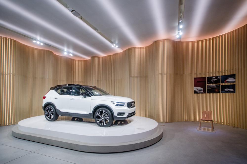 Volvo Debuts Latest SUV At Scandinavian Design Pop-Up Store