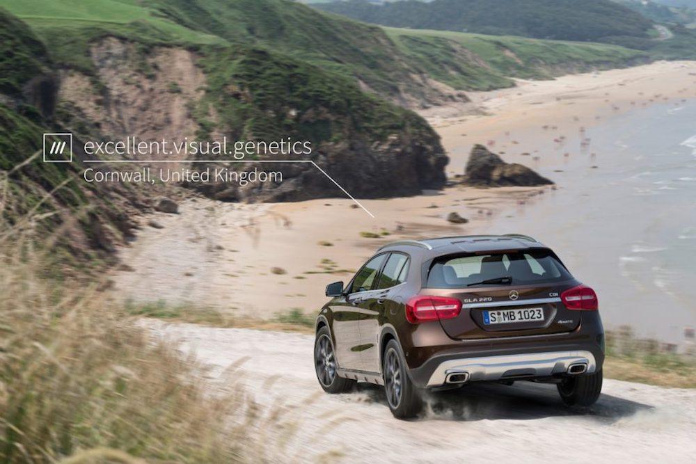 Mercedes Partnership Brings 3-Word Addresses To Car Navigation