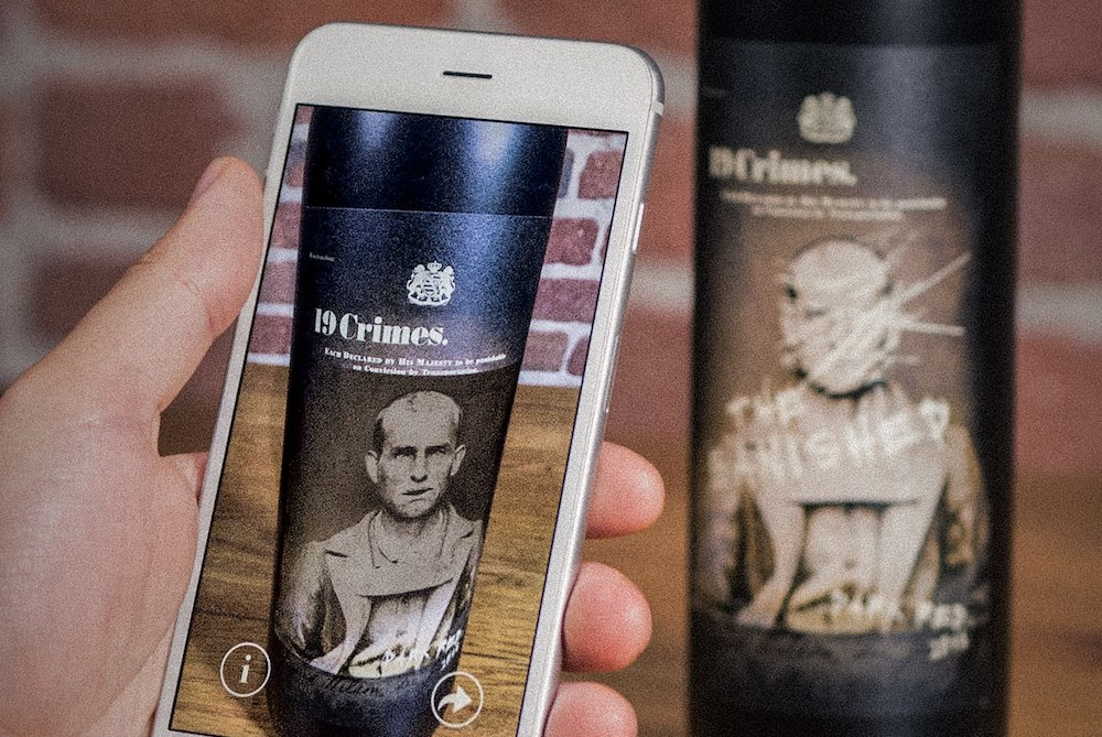Australian Wine Label Animates 18th-Century Convicts In AR