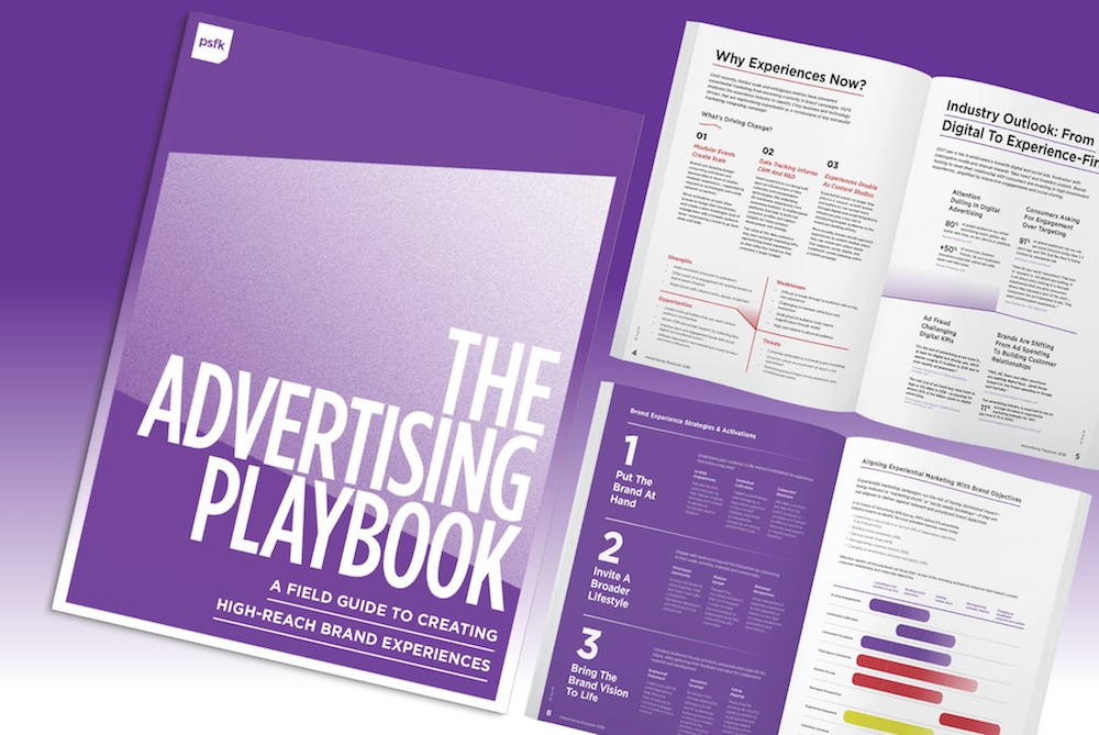 PSFK Launches The Advertising Playbook 2018
