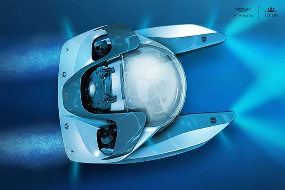 Aston Martin Is Showing Off Designs For A Limited Edition Submarine
