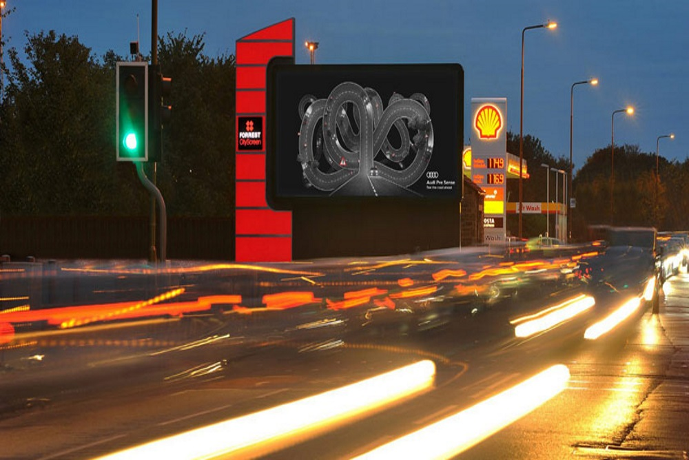 Audi Billboards Change Based On Environmental Conditions