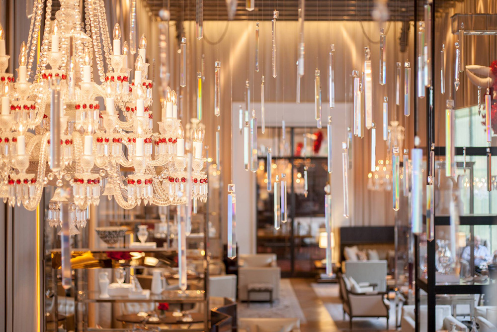 Baccarat Hotel Illuminates With Own Brand's Crystal Collection