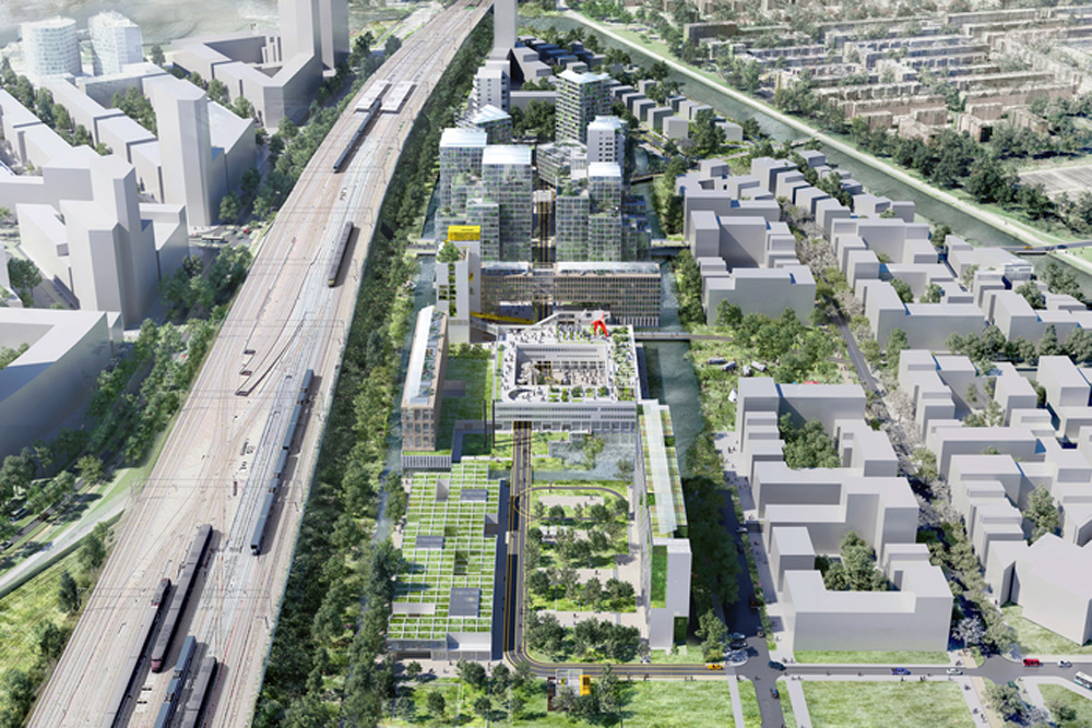 Old Prison Complex To Be Transformed Into A Buzzing Eco-Forward Neighborhood