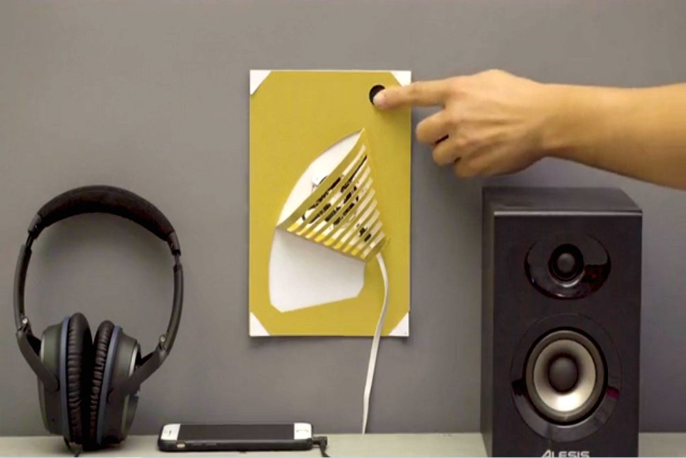 Make A Lamp Out Of Paper And Paint With This Kit