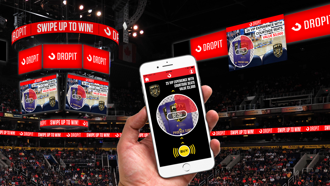 Live Auctions Created For Fans At Sporting Events
