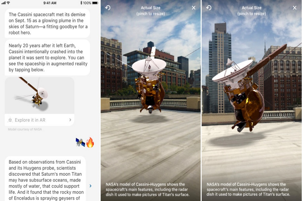 Augmented Reality Models Drop News Reports Right In Front Of You