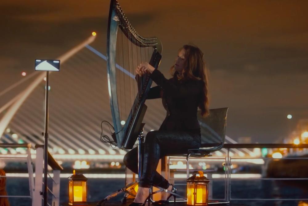 Samsung Turns A Dublin Bridge Into A Playable Harp
