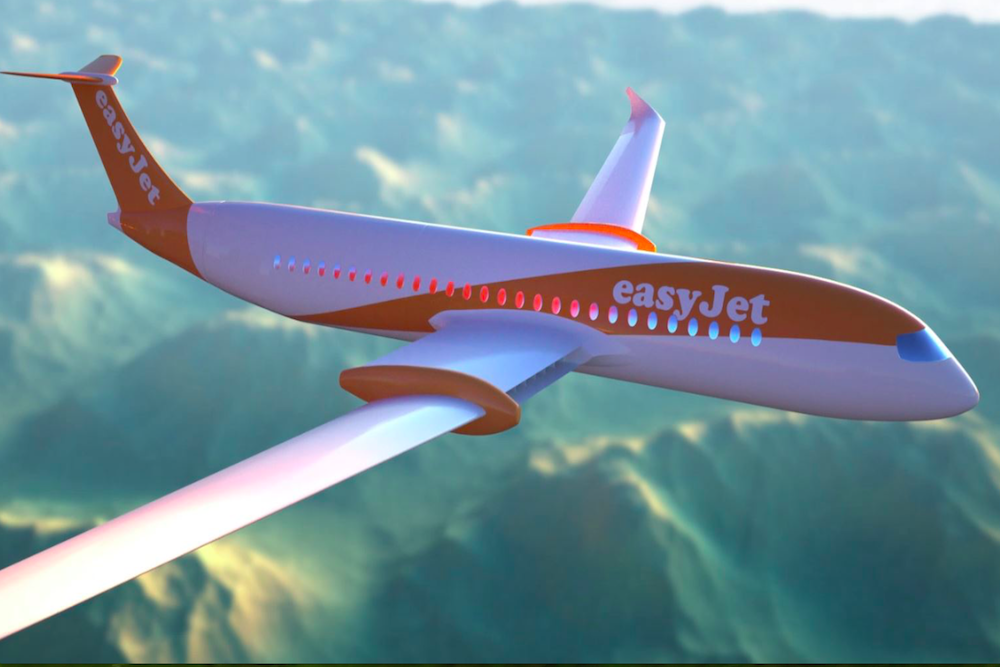 EasyJet Plans To Have An Electric Airplane In The Sky Within A Decade