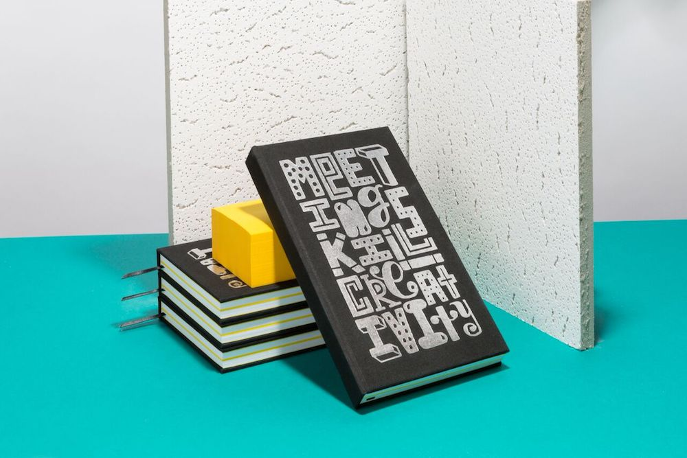 This Notebook Uses The Power Of Illustration To Inspire Creativity From Anyone