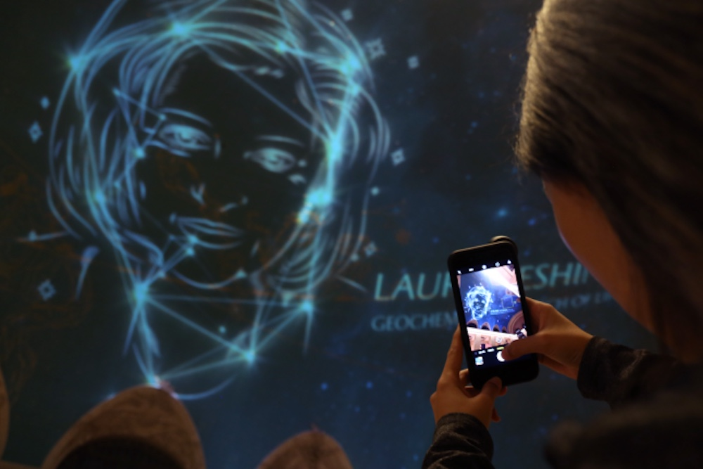 Women Scientists Illuminate Grand Central Terminal With 'Unseen Stars'