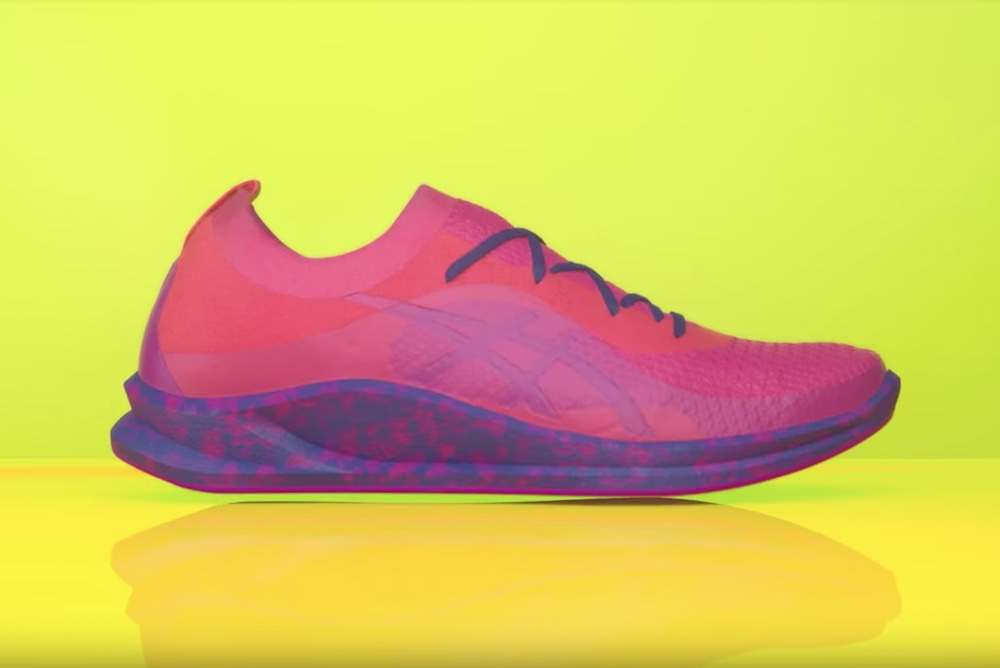 ASICS Is Using Microwaves To Make Custom Shoes