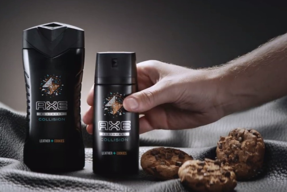 Axe Mixed Leather And Cookies To Promote Unusual Mashups