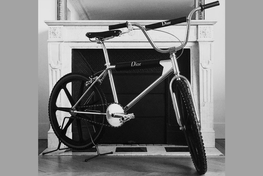 Dior Homme Teases The Release Of A Branded BMX Bike