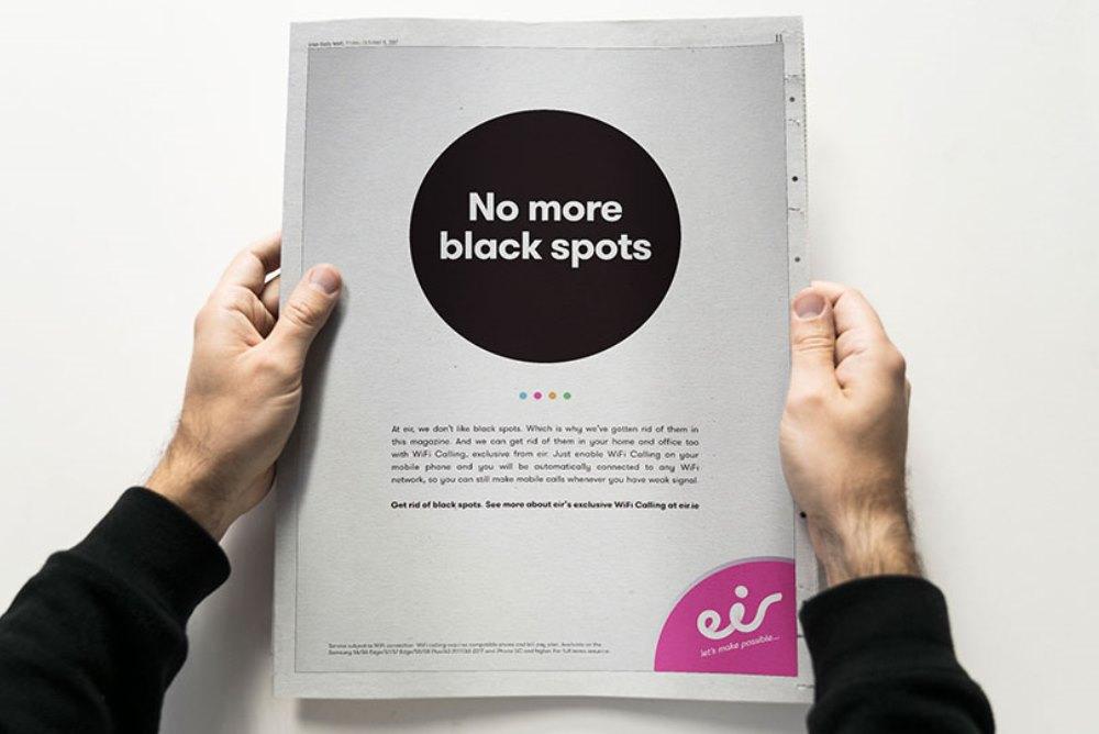 Magazine Campaign Makes All Black Spots Colorful