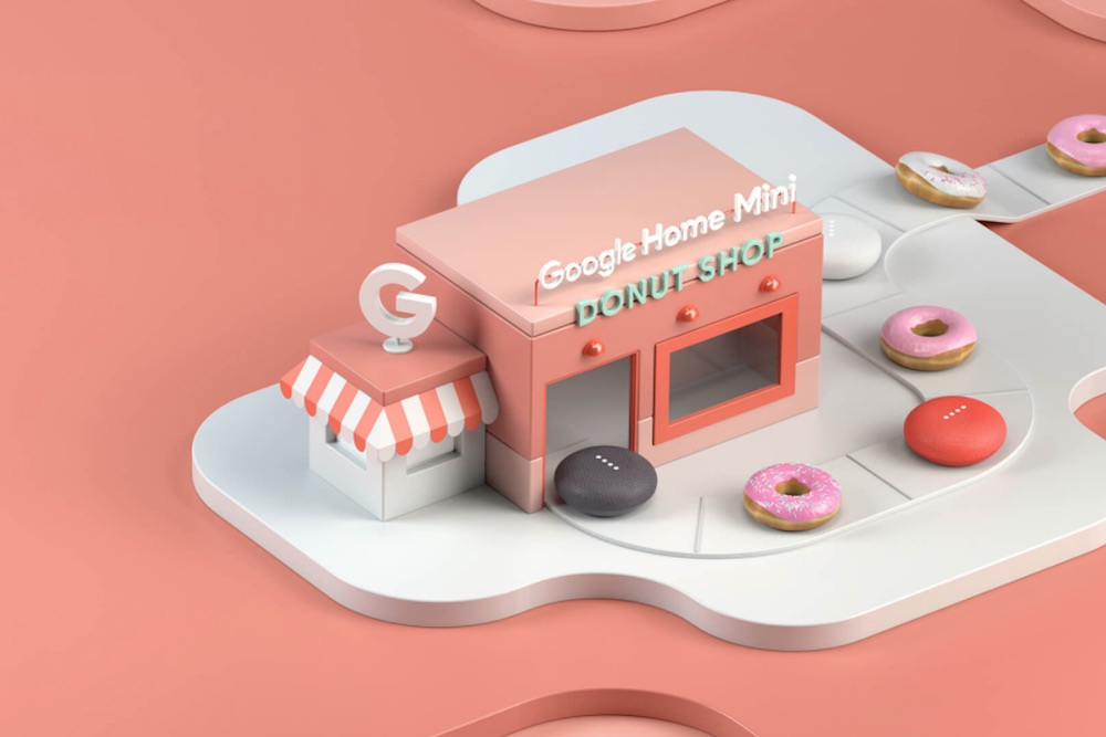 Google Creates Pop-Up Donut Shops To Promote The Home Mini