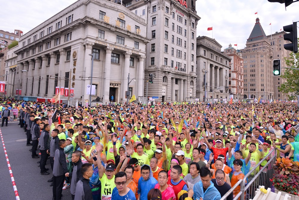 Smart Tracks And 'Smog Jogs:' The Rapid Rise Of Shanghai's Running Clubs