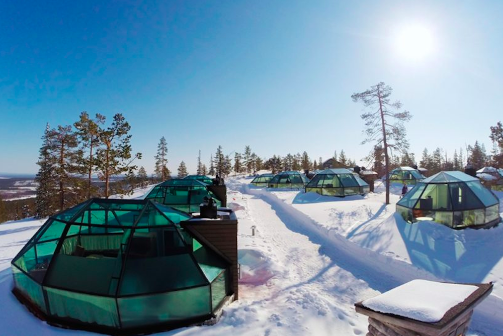 View The Northern Lights From A Luxury Igloo In Finland
