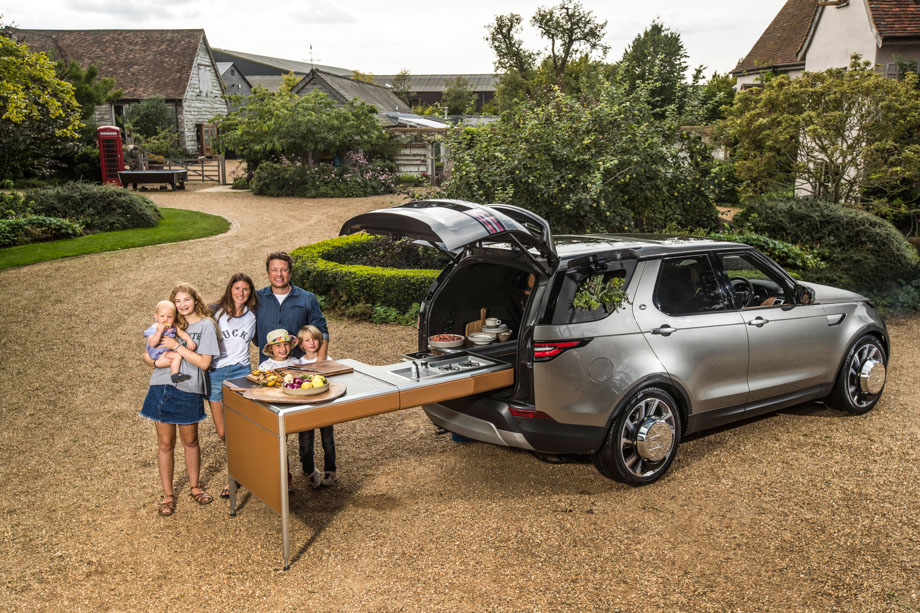 Land Rover Built The Ultimate Mobile Kitchen