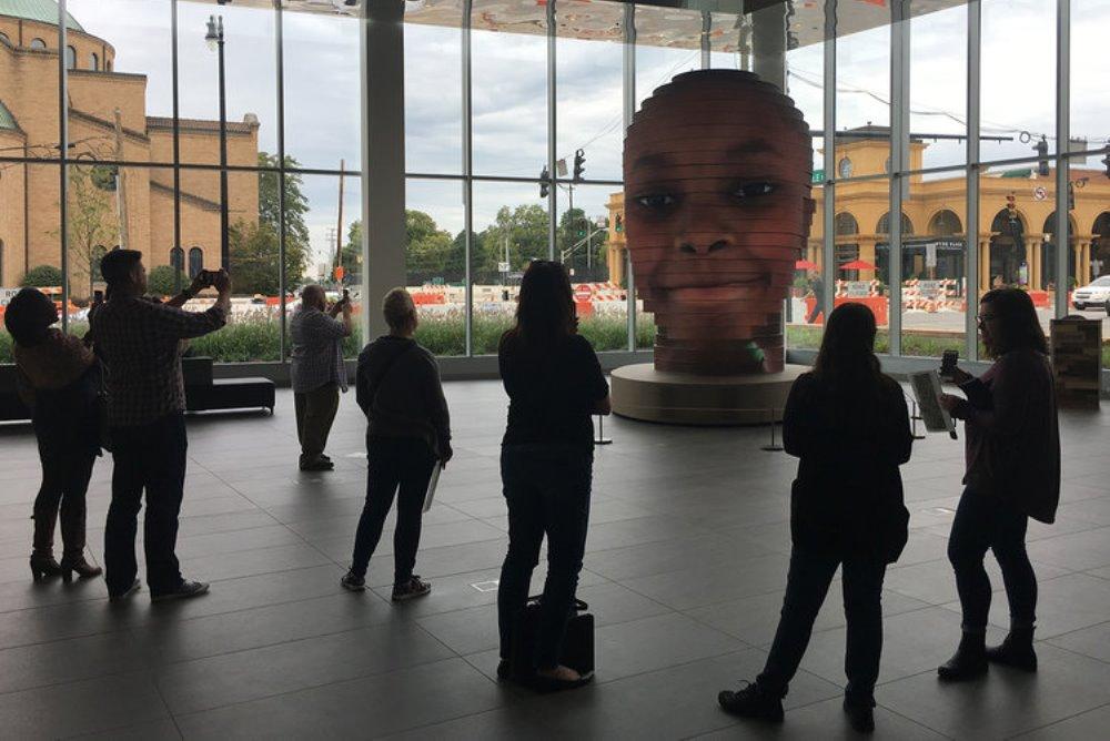 Selfie Sculpture Creates 3D Model Of Visitor's Face