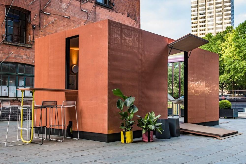 Mini Designed A Compact Living Urban Cabin In London